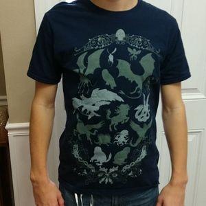 Harry Potter Navy t-shirt, size medium